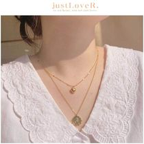 【just LoveR.】Angel In Heaven Layered Necklace Set GOLD