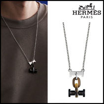 【Hermes】Mobile H necklace ネックレス バッファローホーン