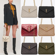 """WSL1953 LOULOU SMALL IN QUILTED """"Y"""" LEATHER"""