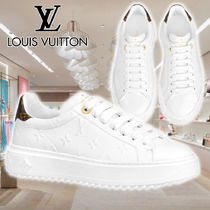 【LV】21AW SNEAKER TIME OUT white 1A8VYE スニーカー