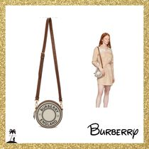 ★BURBERRY★Louise ロゴショルダー バッグ/Off-White