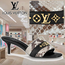 【LV】21AW REVIVAL MULE Python skin 1A8W32 ミュール