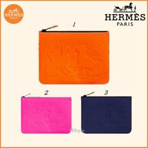 【HERMES】Neobain Les Leopards, PM はっ水ポーチ コスメなどに