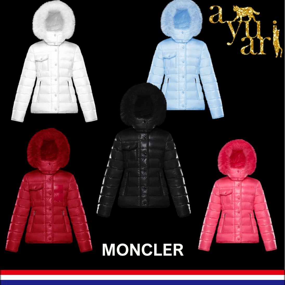 MONCLER直営店★NEW ARMOISE★12歳-14歳★大人もOK★無料速達 (MONCLER/キッズアウター) 69107137
