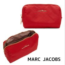 MARC JACOBS THE BEAUTY TRIANGLE POUCH コスメポーチ レッド