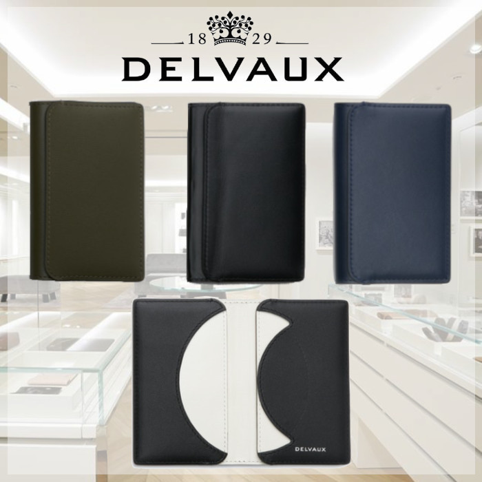 DELVAUX The Empire of Light Box Calf カードホルダー 3色 (DELVAUX/カードケース・名刺入れ) AB0495AAM0AKJPA  AB0495AAM0ADFPA   AB0495AAM0ADJPV