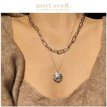 【just LoveR.】Billy Layred Necklace + Chain Neckless