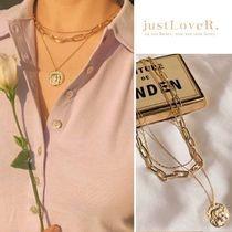【just LoveR.】Billy Layred Necklace + Ball + Chain Neckless