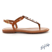 TOD'S CHAIN THONG SANDALS