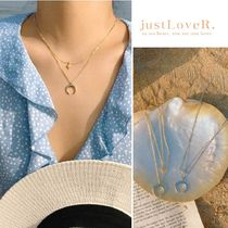 【just LoveR.】Starlight Crescent Necklace + Gift Box