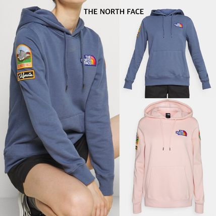 【THE NORTH FACE】″NOVELTY PATCH HOODIE″ロゴフーディ☆2色