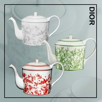 Dior☆ティーポット☆Toile de Jouy & Lily of the Valley