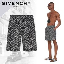 【GIVENCHY】Refracted ロング スイムパンツ