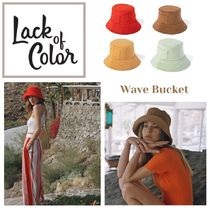 lack of color(ラックオブカラー) ハット ★.. Wave Bucket Terry - バケットハット 4色  ..★