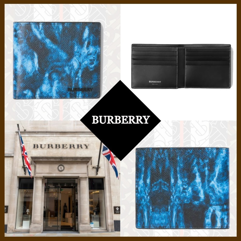 21SS◆国内完売◆BURBERRY◆Leather Bifold Wallet (Burberry/折りたたみ財布) 69160781