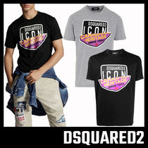 【D SQUARED2】 CANADIAN ICON T-SHIRT ロゴTシャツ