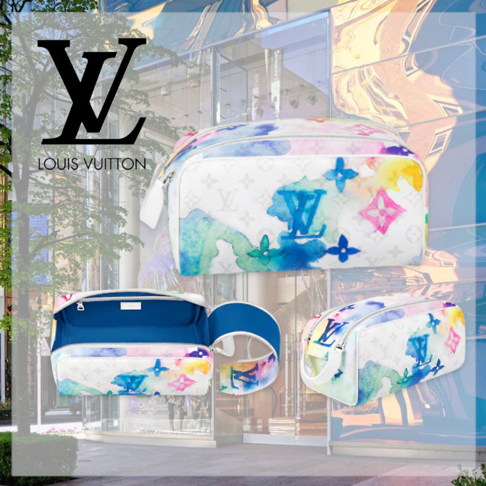 21SS☆【LouisVuitton】ドップキット トイレタリーバッグ ポーチ (Louis Vuitton/雑貨・その他) M80500