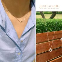 【just LoveR.】925 Silver Clyde Necklace