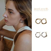 【just LoveR.】Louise Earrings (Knot)