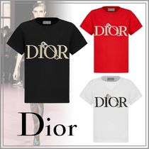 Dior(ディオール) キッズ用トップス 【大人もOK】☆DIOR☆ DIOR AND JUDY BLAME Tシャツ BLK/RED/WHT