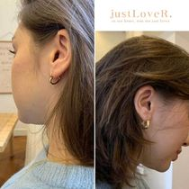 【just LoveR.】Kaia Heart and Curve Earrings