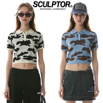 ★SCULPTOR★送料込み★正規品★韓国★人気 Polo Knit Top