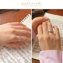 【just LoveR.】Pretzel Chubby Heart Ring GOLD