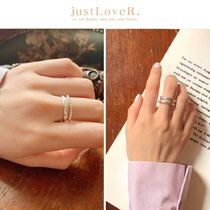 【just LoveR.】925 Silver Sophia Claire Ring
