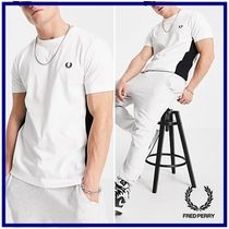 ☆Fred Perry☆twin tipped panelレギュラーフィット半袖Tシャツ