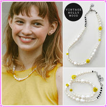 【VINTAGE HOLLYWOOD】Big Smile Pearl Necklace〜ネックレス