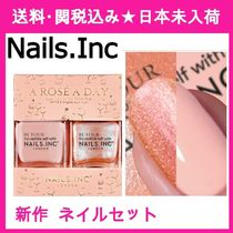 Nails Inc(ネイルズインク) マニキュア 【Nails.Inc】A Rose A Day Scented Nail Polish ネイルセット