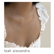 【leah alexandra】BABY BOX CHAIN NECKLACE 10K 金 ネックレス