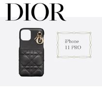【Dior】LADY DIOR IPHONE 11 PROケース ギフト すぐお届け
