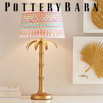 {PotteryBarn teen] Lilly Pulitzer Polished Palm Table Lamp