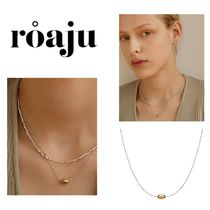 【ROAJU】concise oval necklace ★ BTS 愛用★ネックレス★