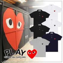 COMME des GARCONS(コムデギャルソン) ポロシャツ 【送料無料】COMME des GARCONS レディース ハート ポロシャツ
