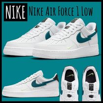 ●NIKE●ライムアクアマリンが爽やかAir Force1Lowスニーカー☆