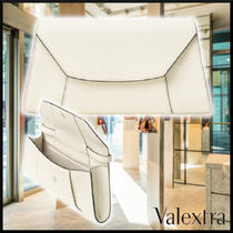 Valextra 21SS CLUTCH LA SCALA MEDIA leather クラッチバッグ