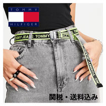 ★Tommy Jeans★ ロゴテープベルト/yellow
