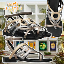【HERMES】21SS Carthage sandals Multicolor Leather サンダル