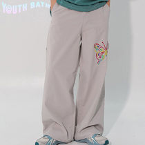 ★YOUTHBATH★WIDE PANTS_BUTTERFLY GRAY★正規品/ユニセックス