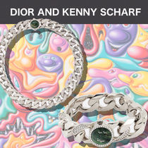 """""""DIOR""""セット★  DIOR AND KENNY SCHARF  ネックレス&ブレス"""