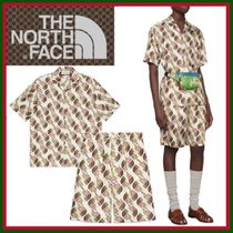 21SS◇夏映えアイテム◇The North Face x Gucci◇Silk Set Up