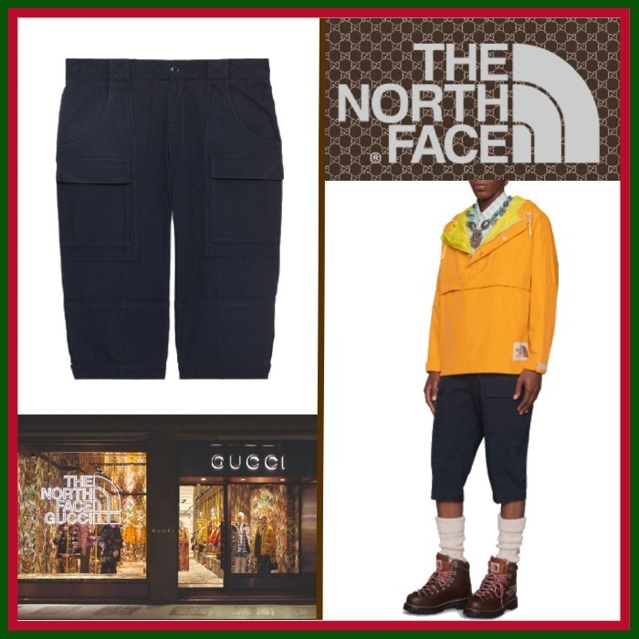 21SS◇限定コラボ◇The North Face x Gucci◇Cropped Trousers (GUCCI/ハーフ・ショートパンツ) 69343882