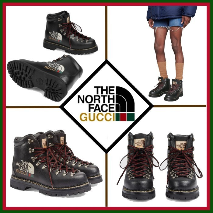 21SS◇限定コラボ◇The North Face x Gucci◇Ankle Boot (GUCCI/ブーツ) 69344286