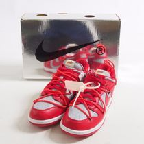 Off-White::Nike Dunk Low Red:26.5cm[RESALE]