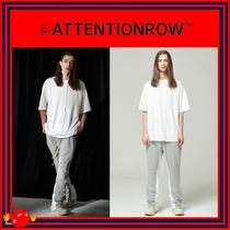 ATTENTIONROW(アテンションロー) Tシャツ・カットソー [ATTENTIONROW] 21S4D014 Waffle Semioverfit T-Shirts/追跡付
