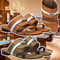 【HERMES】21SS Sandals Avenue 2Colors Leather サンダル