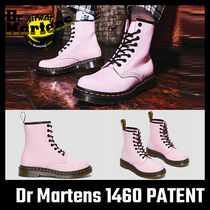【Dr Martens】 1460 PATENT LEATHER BOOTS Pale Pink