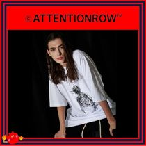 ATTENTIONROW(アテンションロー) Tシャツ・カットソー [ATTENTIONROW] 21S4D004 After Image Overfit Tee/追跡付